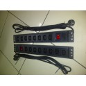 PDU 8 Outlets C13 Socket 16A with switch on/off