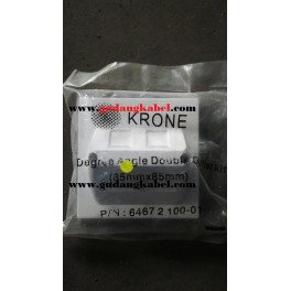ADC Krone Face Plate 1 Hole with Shutter, ANGEL