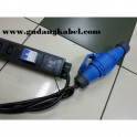 PDU 6 Outlets Germany-Type 32A, with MCB On/Off & SUrge Protector & Industrial Plug