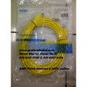 AMP Patch Cord Cat.6 20FT yellow (6 meter)